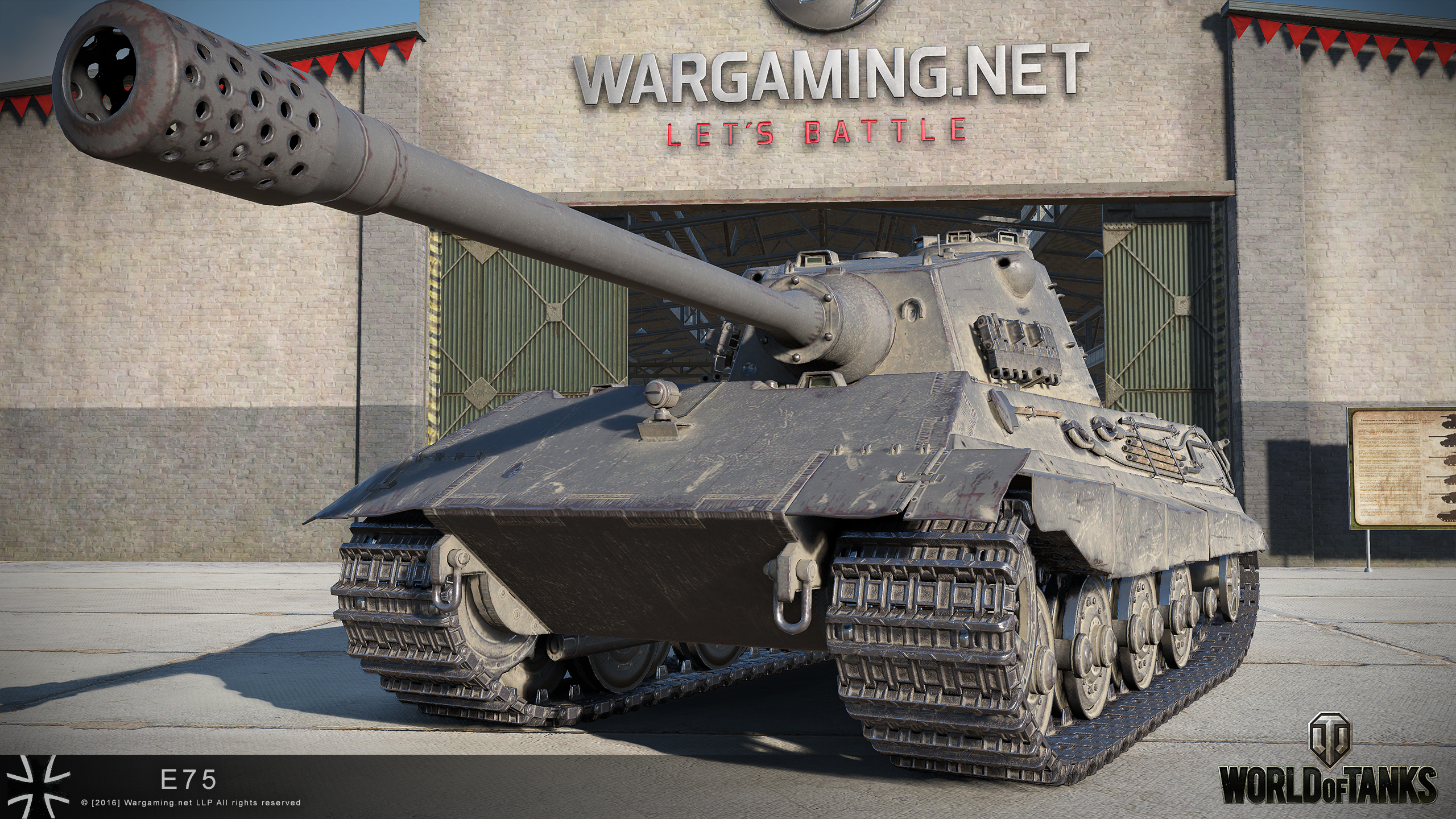 e-75 hd renders – the armored patrol