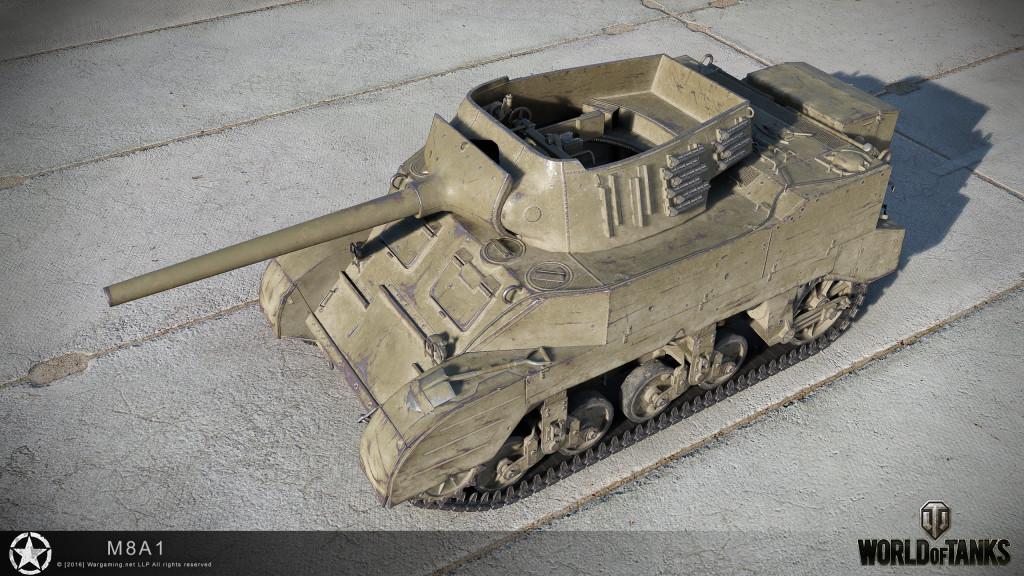 Шкурка для m8a1 для world of tanks