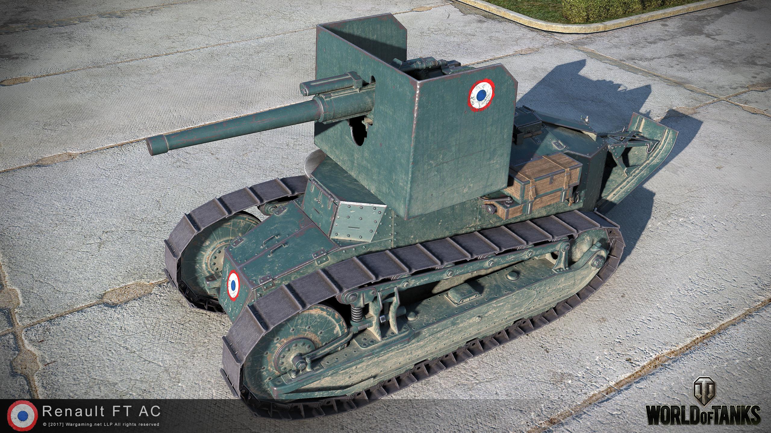 Renault Ft Ac Hd Renders 9 19 The Armored Patrol
