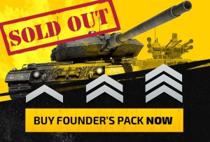 founder pack, sold out