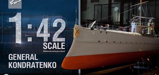 """Skala 1:42: Przywódca """"ochotników"""" – Generał Kondratienko"""