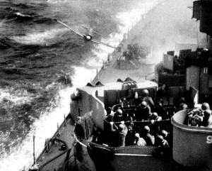 Kamikaze-about-to-hit-USS-M