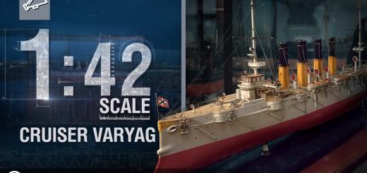 Skala 1:42 – Krążownik Wariag