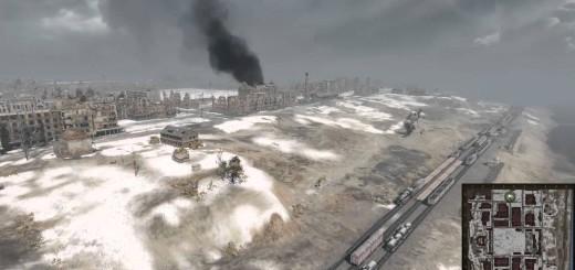 Zmiany na mapie Stalingrad – video