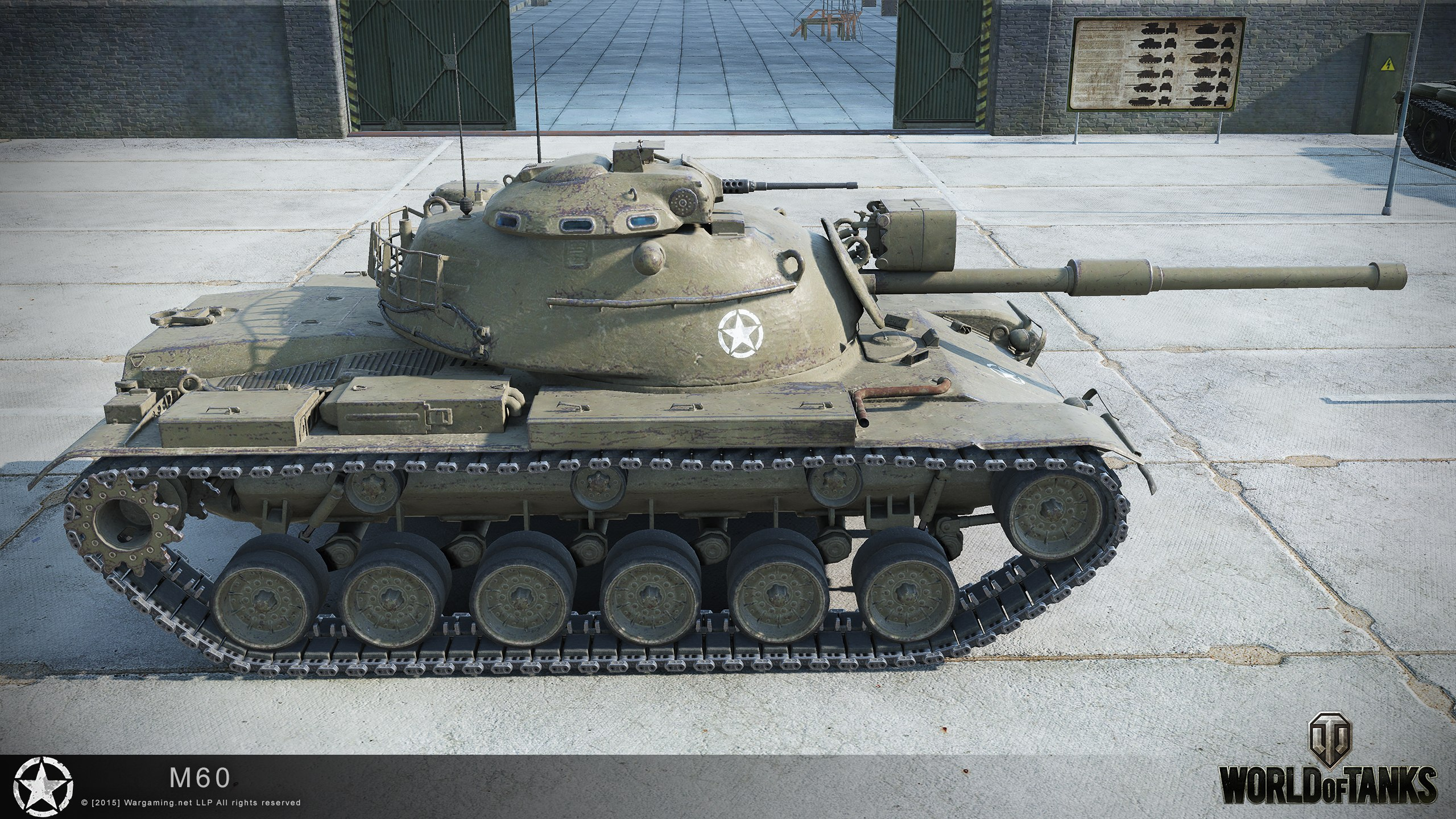 M60 hd renders the armored patrol for Schreibtisch 1 60 m