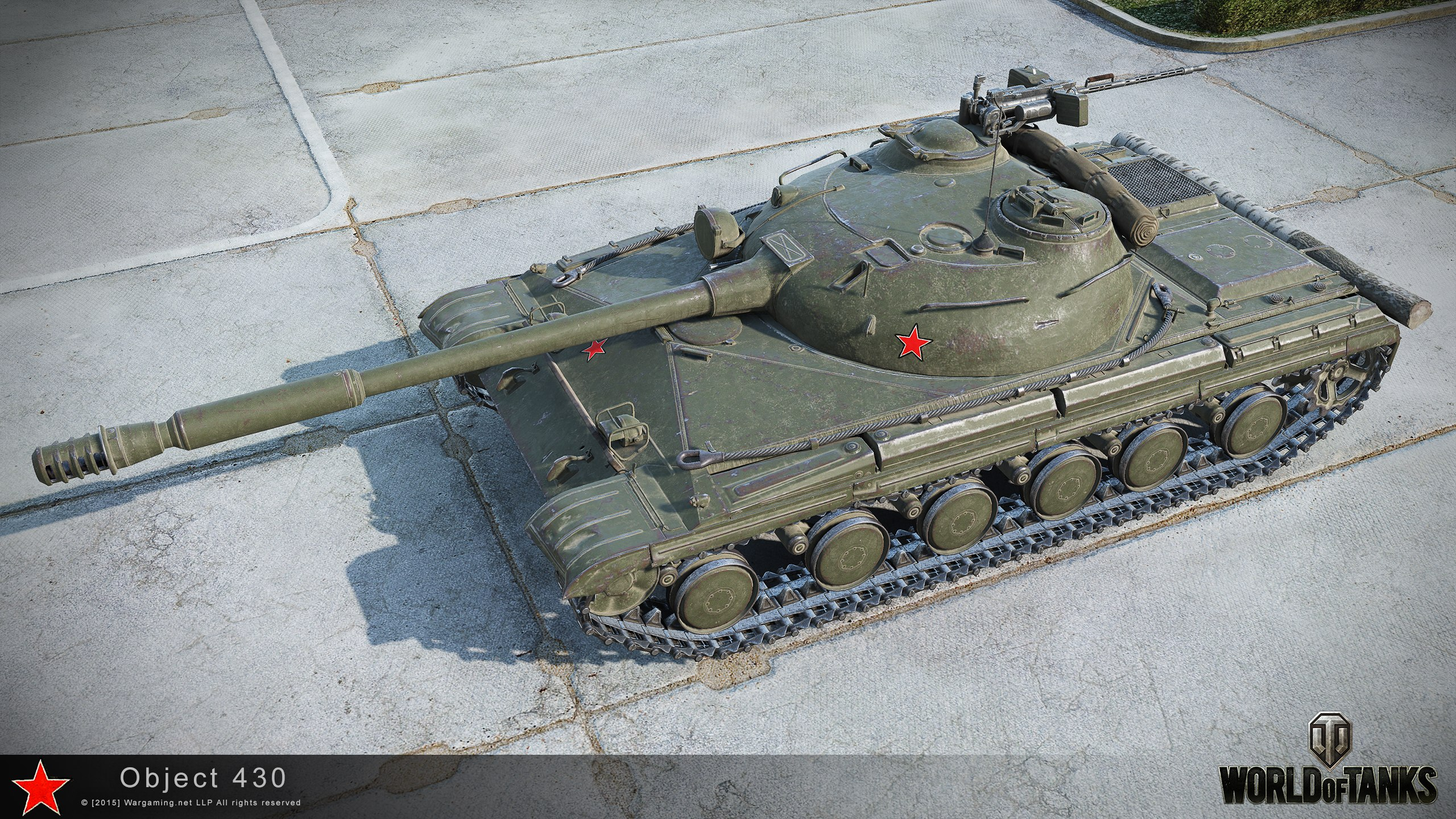 object 430 hd renders – the armored patrol