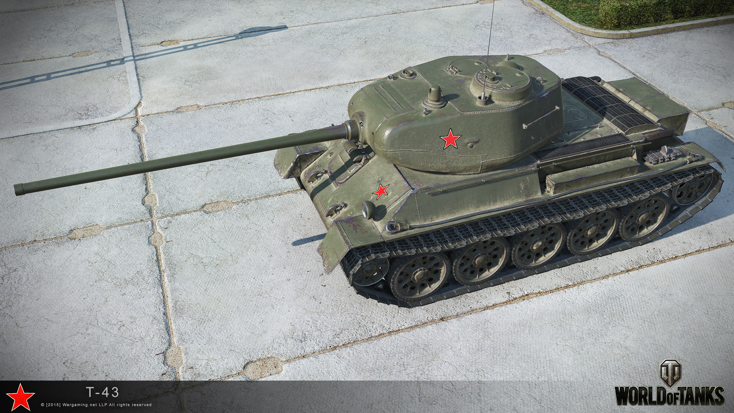 A 43 Wot t-43 hd renders - the armored patrol
