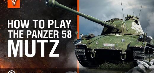 Jak grać Panzer 58 Mutz