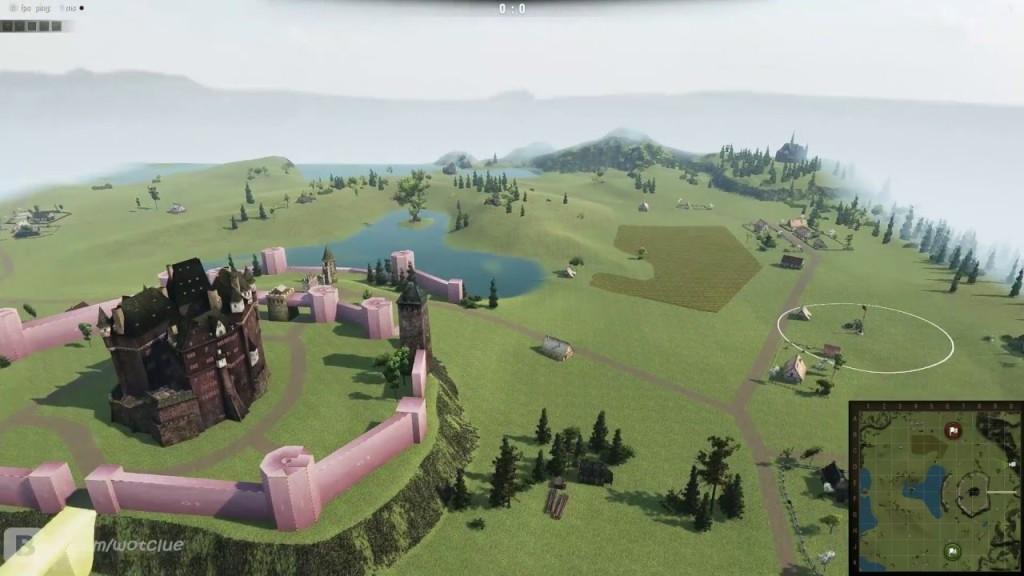 Mapa Zamek w obiektywie
