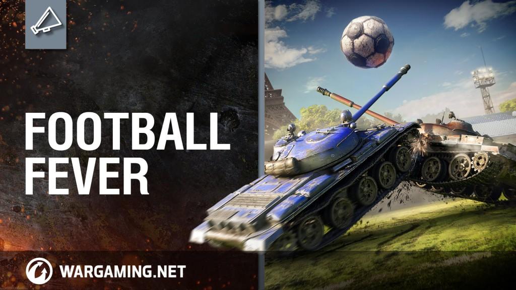Piłkarskie zawody w World of Tanks