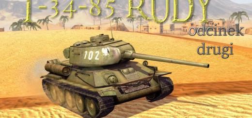 WoT: Blitz – T-34-85 Rudy recenzja
