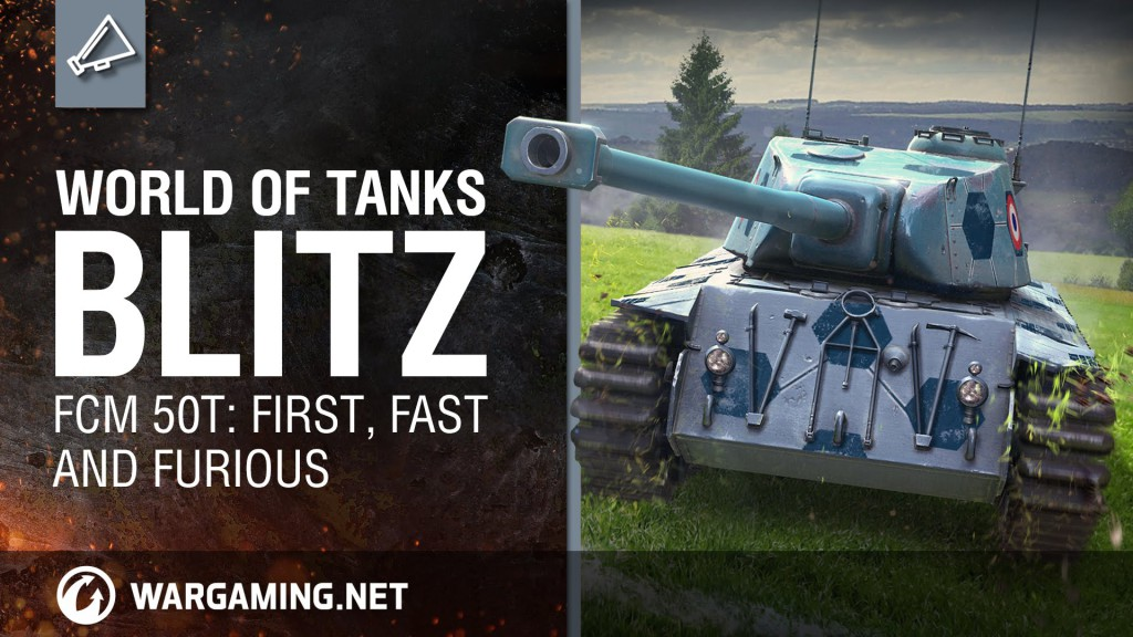 FCM 50t: Francuz uderza na pole bitwy – Blitz