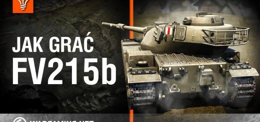 World of Tanks Polska – jak grać FV215b