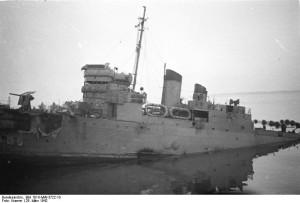 "St. Nazaire, Zerstörer ""HMS Campbeltown"""