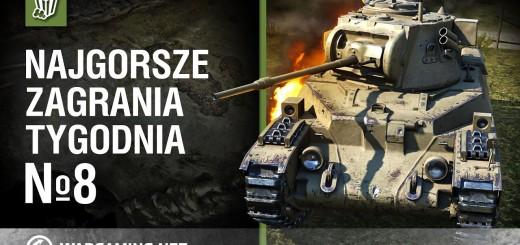 World of Tanks Polska – Najgorsze zagrania tygodnia №8