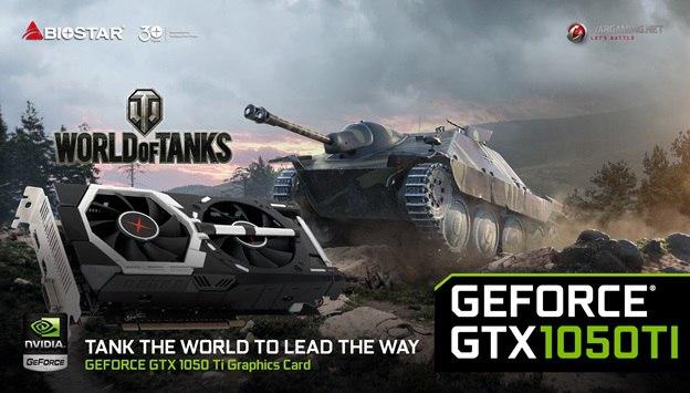 Gtx 1050 Ti Grafika Dla Fanow World Of Tanks Rykoszet Info