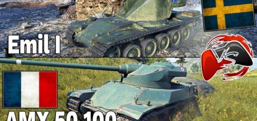 AMX 50 100 vs Emil I – NewMulti2k