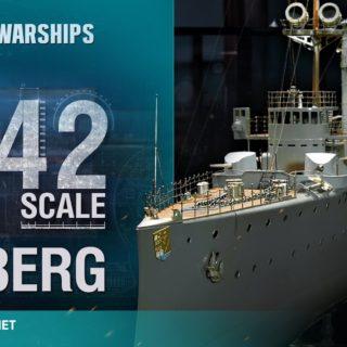Skala 1:42 – Kolberg, niemiecki krążownik lekki