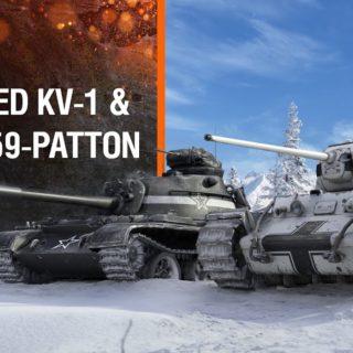 Zdobyczny KV-1 & Legion 59-Patton – PS4 & X