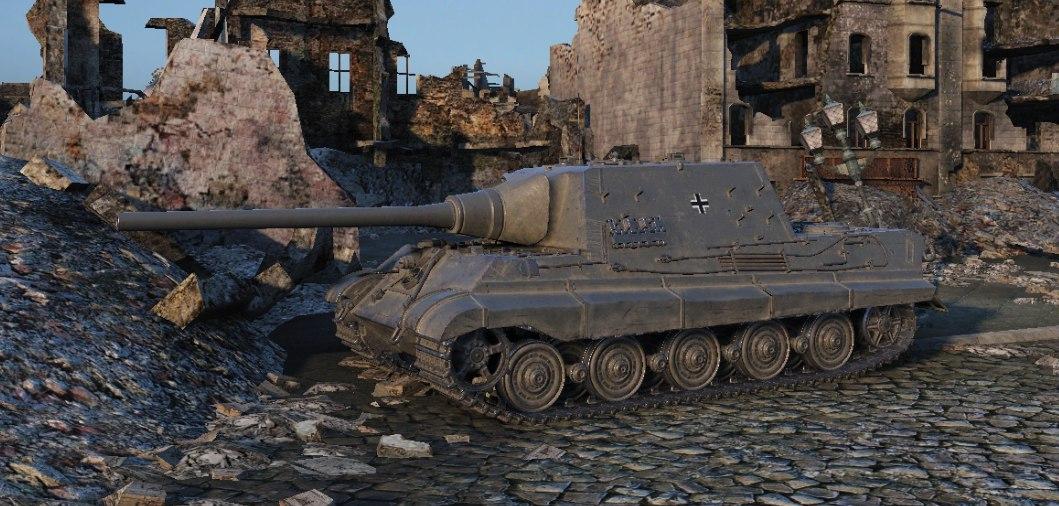 Supertest Jagdtiger H The Armored Patrol