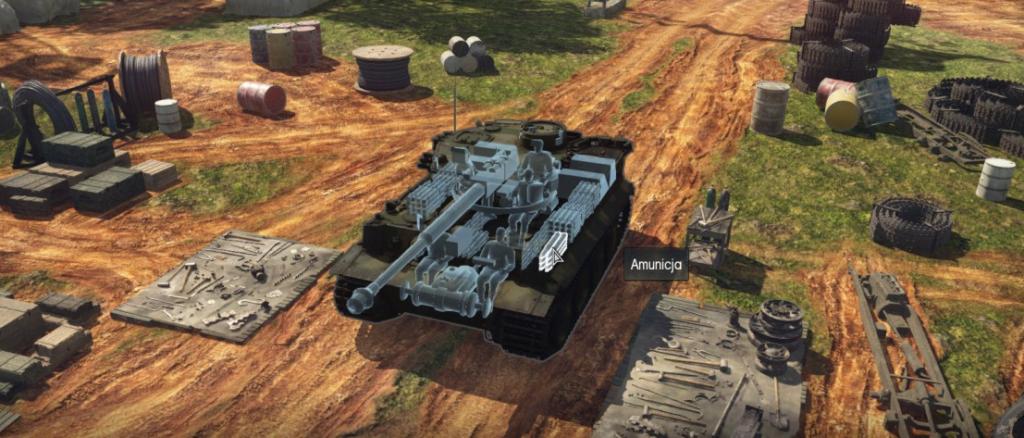 Tiger H1 - ammo