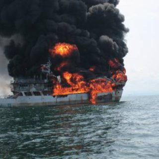 ship engine overheating