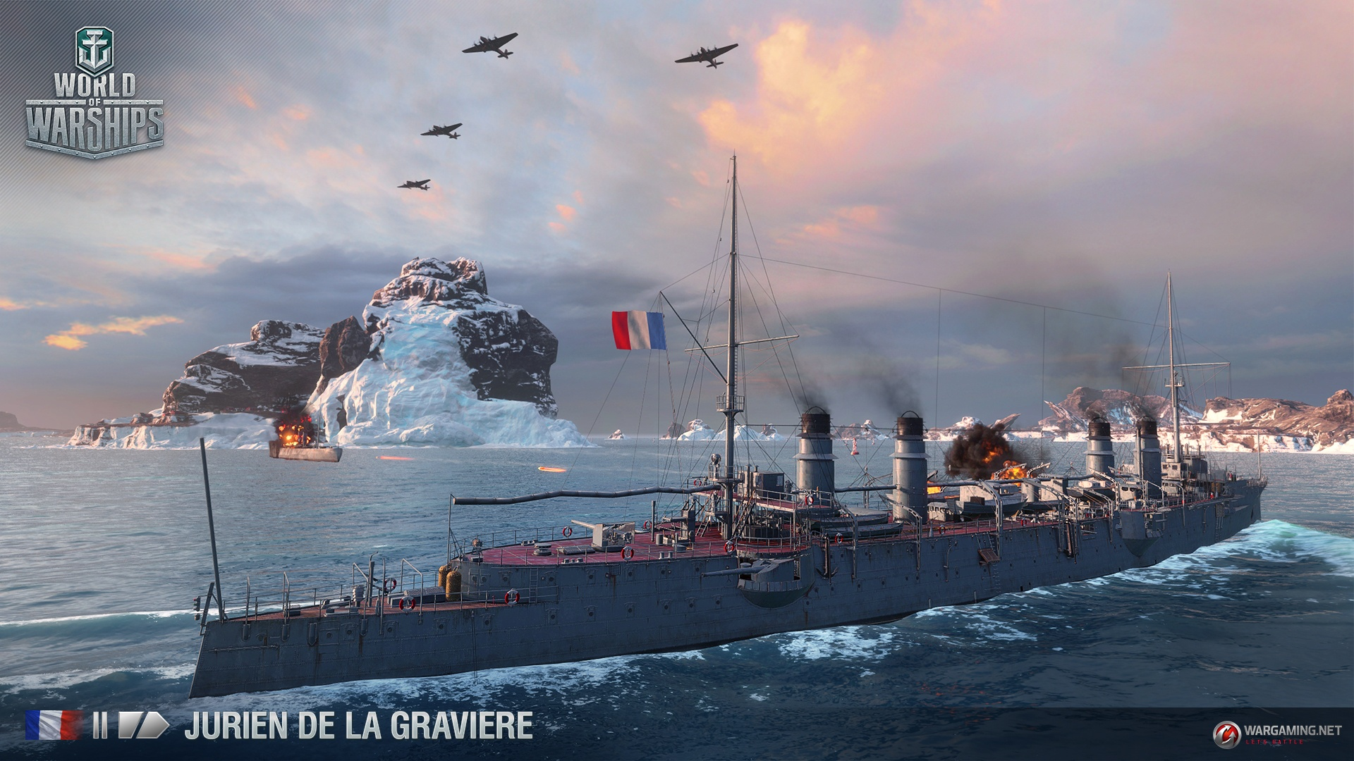 [WoWs] French cruisers incoming