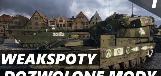 Dozwolone Mody – World of Tanks