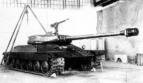 Czołg IS-6 drewniana makieta