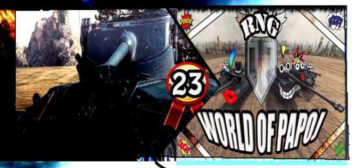 World of Tanks PAPOJ RNG 23