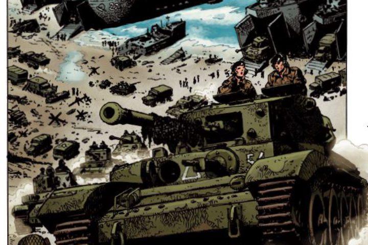 Komiks – przykladowa strona 1