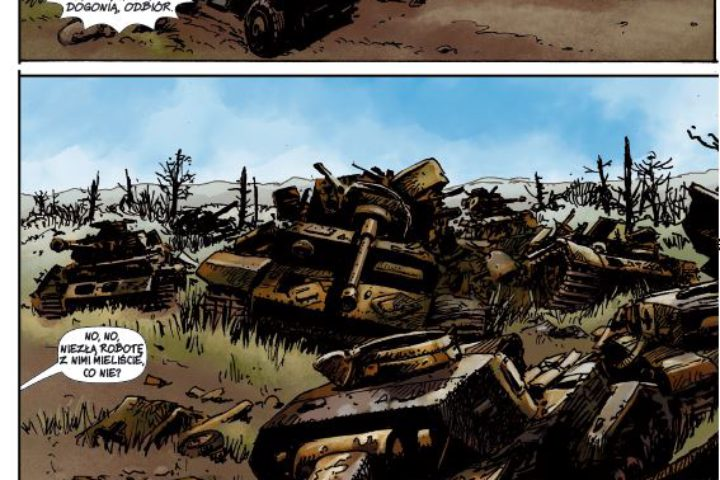 Komiks – przykladowa strona 2