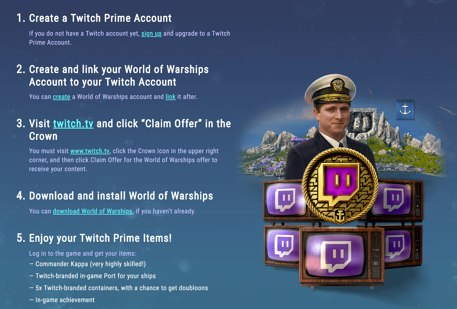 link twitch prime