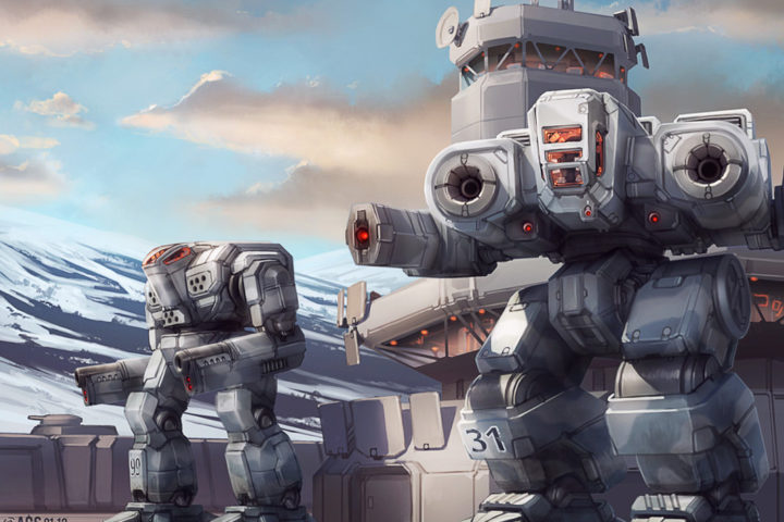 battletech___headquarters_guard_by_shimmering_sword-d4m428l