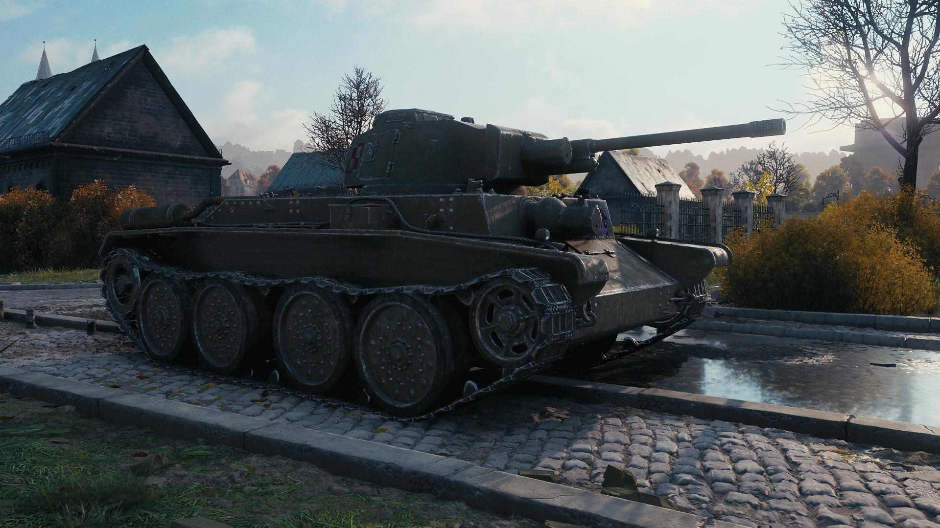 World Of Tanks Supertest Polish 4tp 7tp 10tp 14tp In