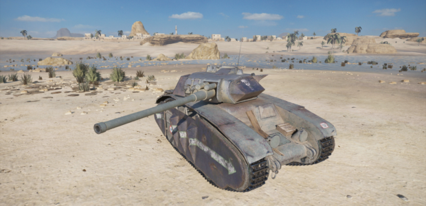 World of Tanks Mercenaries – Deadbold (Tier5HeavyTank)