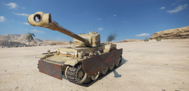 World of Tanks Mercenaries – Longreach (Tier6HeavyTank)