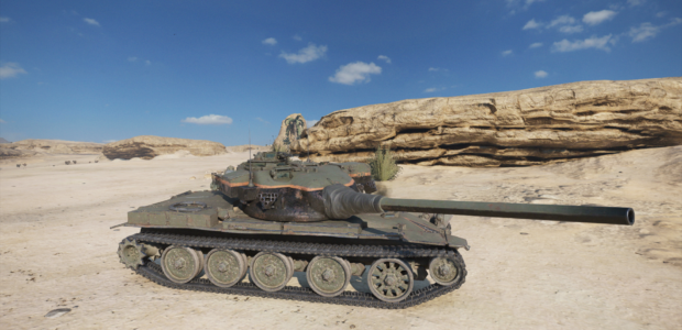 World of Tanks Mercenaries – Sharpshooter (Tier9Medium)