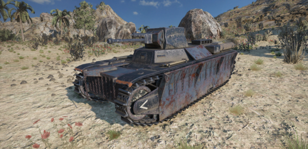 World of Tanks Mercenaries – Tresher (Tier3LightTank)