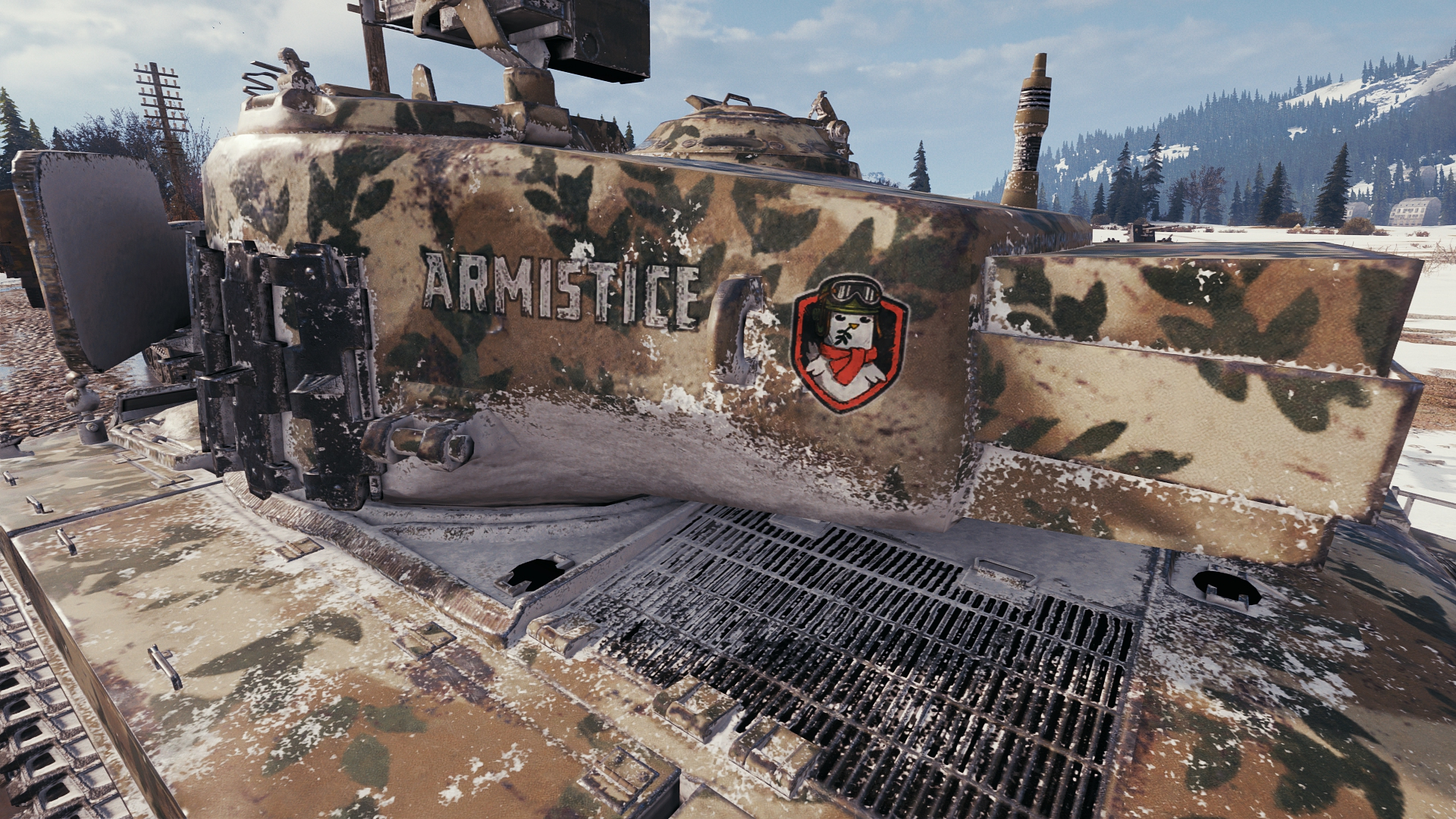 World of Tanks - Dove of Peace stylization set and bonus
