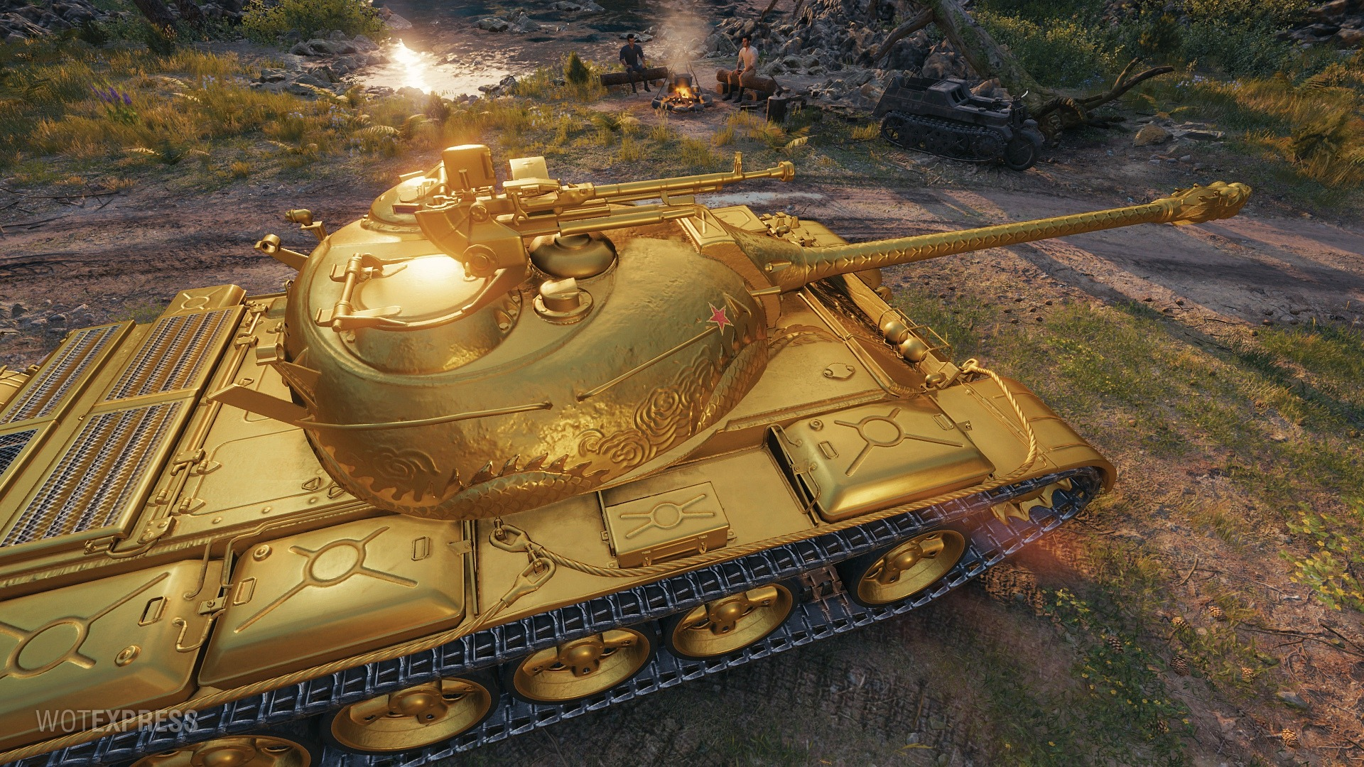 Type 59 Gold Pictures - The Armored Patrol